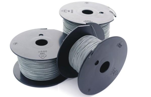 Plombendraht Eisen verzinkt auf Spule 0,70/0,50 - 100 m Länge