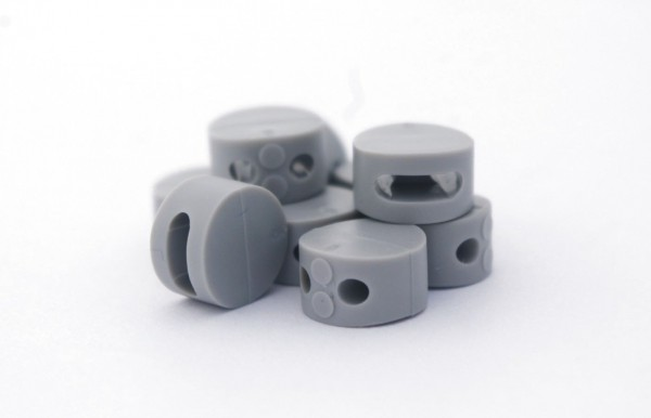 Kunststoffplombe mit Knotenkammer 10 mm (1000 Stück)